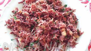 escondidinho de carne seca com requeijão cremoso